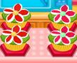 Çiçekli Cup Keki