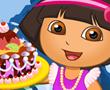 Dora Kraliyet Kek Hazırlığı
