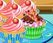 Kremalı Kap kek
