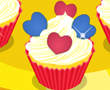 Sevimli Kalp Kalıp Pasta