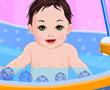 Tatlı Bebek Banyo