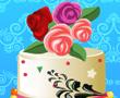 Çiçek Düğün Pastası
