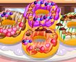 Donuts yemek pişirme oyunları