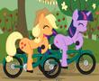 Little Pony Bisiklet Yarışı