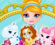 Bebek Barbie Evcil Hayvanların Güzellik Yarışması