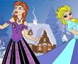 Elsa ve Anna Renkli Boyama