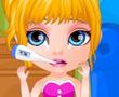 Bebek Barbie Boğaz Doktorunda