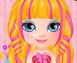 Bebek Barbie Saç Tasarımı
