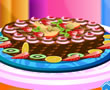 Barbie Çikolatalı Pasta