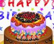 Doğum Günü Meyveli Kek
