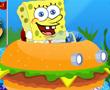 Süngerbob Hamburger Araba