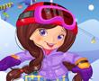 Snowboardcu Kız