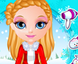 Barbie Bebek Kış Örgüsü