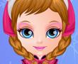 Bebek Barbie Yüz Boyama