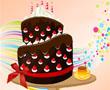 Çikolatalı Kek Dekorasyonu