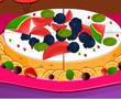 Meyveli ve Peynirli Kek