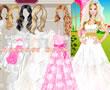 Barbie Gelinlikçide