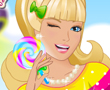 Rengarenk Barbie