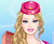 Barbie Uçuş Görevlisi