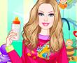 Barbie Bebek Bakıcısı Giydir