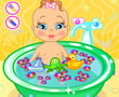 Şirin Bebek Banyoda