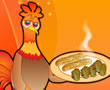 Tavuk Kanadı ve Sarımsaklı Ekmek